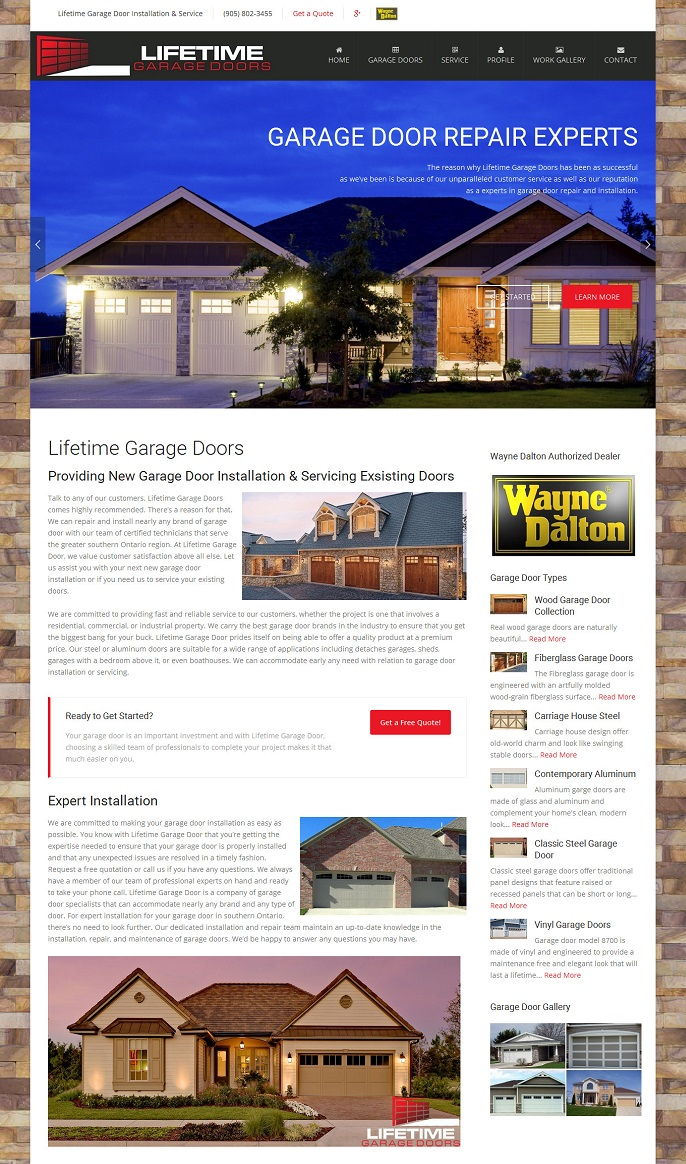 Lifetime Garage Doors