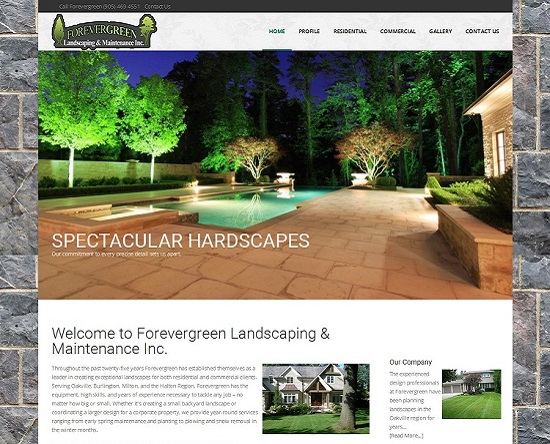 Landscaping in Burlington