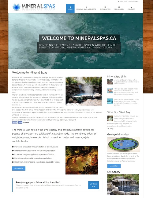 Mineral Spas Canada